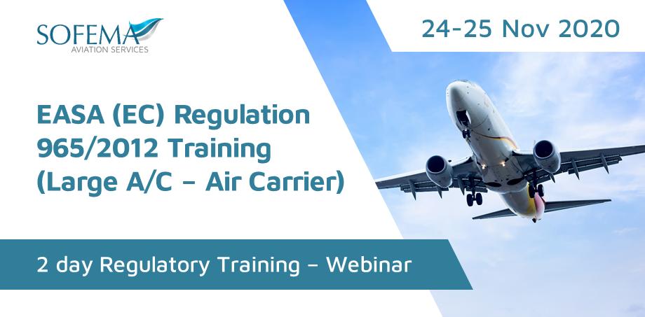 Regulation 965/2012 Training