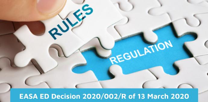 EASA ED Decision 2020/002/R