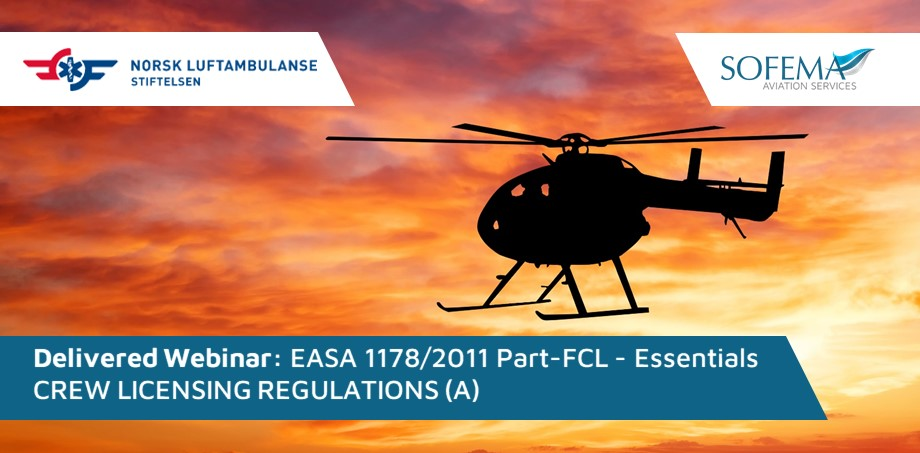The Crew Licensing Regulations training was Successfully Delivered to Norsk Luftambulanse AS