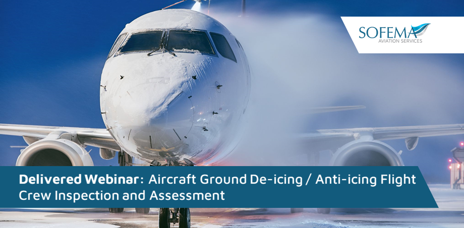 The Aircraft Ground De-icing / Anti-icing Flight Crew Inspection and Assessment training was delivered to delegates from Romcargo